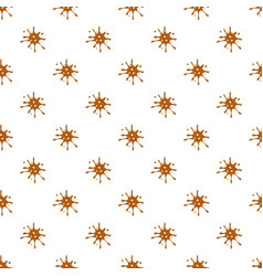 Spot of brown caramel pattern vector