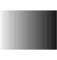 vertical speed line halftone pattern thick to thin vector image