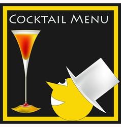 Vintage Cocktails vector image vector image