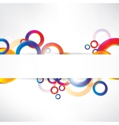 Abstract background with place for text vector image