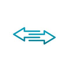 arrows feedback information communications vector image