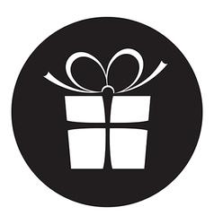 black present vector image
