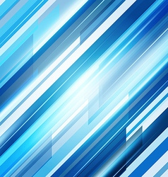 Blue Abstract Straight Lines Background vector
