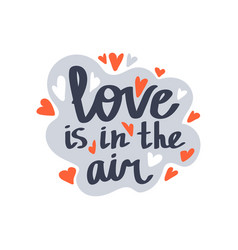 love is in air vector image