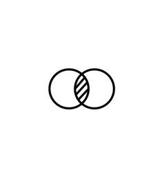 merge cycle icon vector image