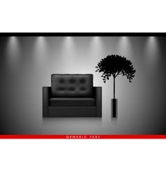 Modern Interior background vector
