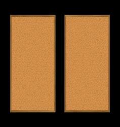 Pin board pair vector