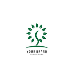 Seed logo vector