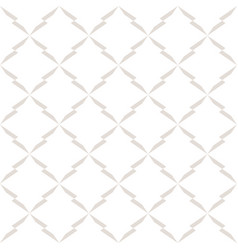 subtle seamless pattern with delicate grid mesh vector image