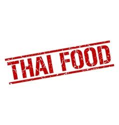 Thai food stamp vector