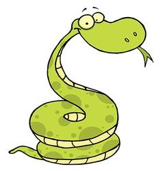 Viper cartoon vector