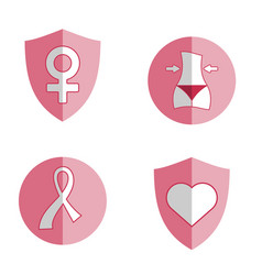 women health icon vector image vector image