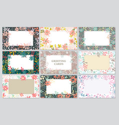 Background cards templates vector