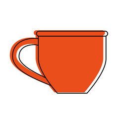 Coffee mug icon image vector