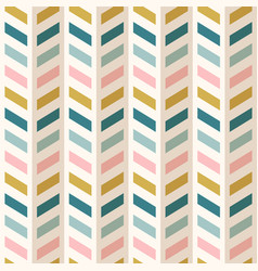 Fashion abstract chevron pattern seamless fabric vector
