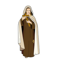 sainte therese vector image