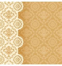 Square decorative background vector