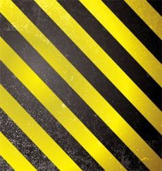 warning grunge stripe vector image