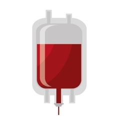 Blood donation theme design isolated icon vector image