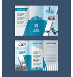 Concept of architecture design with photo frame vector image