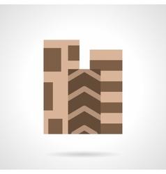Linoleum covering flat color icon vector