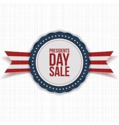 Presidents Day Sale national Banner with Text vector