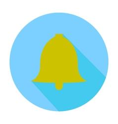 School bell icon vector