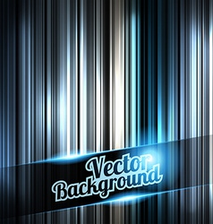 Silverl and shiny stripes background With place vector