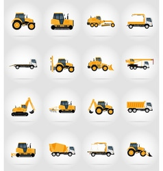 Transport flat icons 37 vector