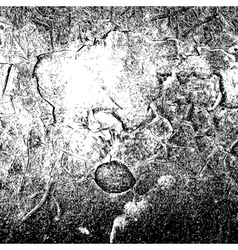 Black Cracked Background vector image