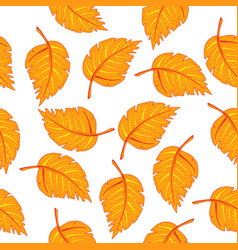 hand drawn colored pattern vector image