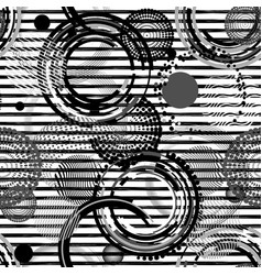 abstract striped seamless pattern creative vector image