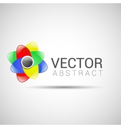 abstract logo design template abstract vector image