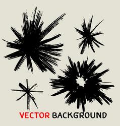 black sunbusrt marker texture background vector image