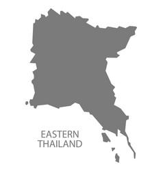 Eastern thailand grey vector