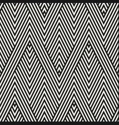 geometric stripes seamless pattern modern zigzag vector image