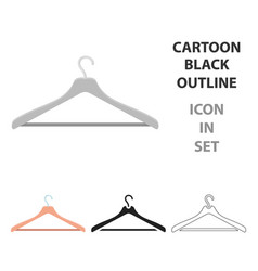 hanger icon of for web and vector image