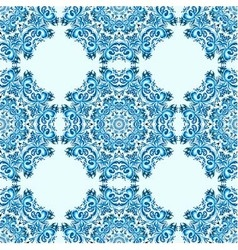 ornament beautiful seamless pattern vector image