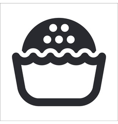 Sweet icon vector