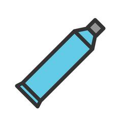 Toothpaste vector
