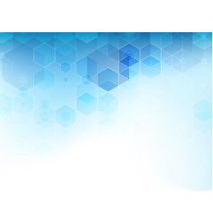 abstract blue cubes backgroundgeometric vector image