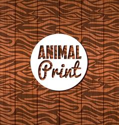 Animal print vector