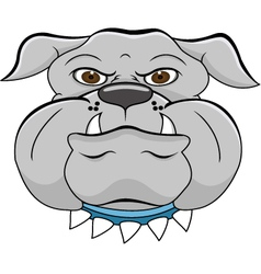 head dog vector image