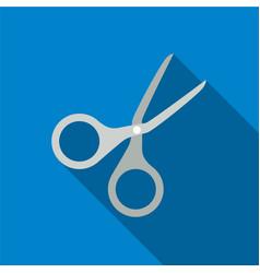 Scissors flat icon vector