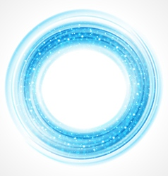 Abstract smooth light circle background vector image vector image