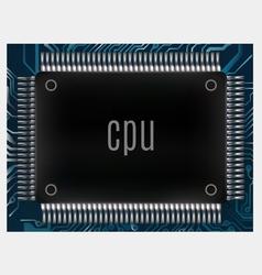 Microchip vector image
