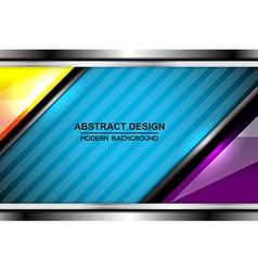 Business blue color backgrounds design vector