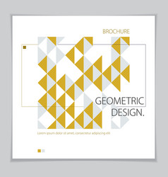 future geometric design template abstract striped vector image