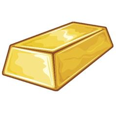 Gold Bullion vector