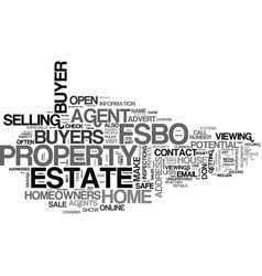 Is fsbo safe text background word cloud concept vector